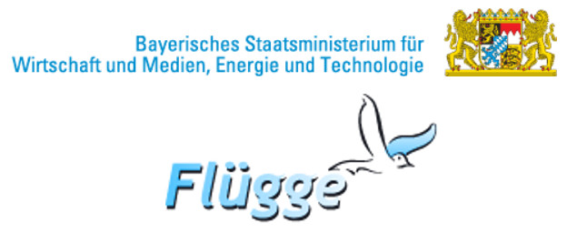 FLÜGGE program logos